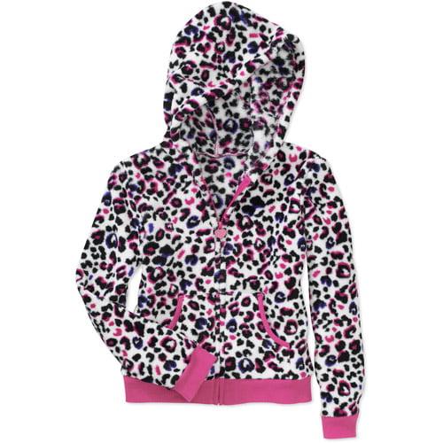 Faded Glory - Girls' Soft Woobie Jacket
