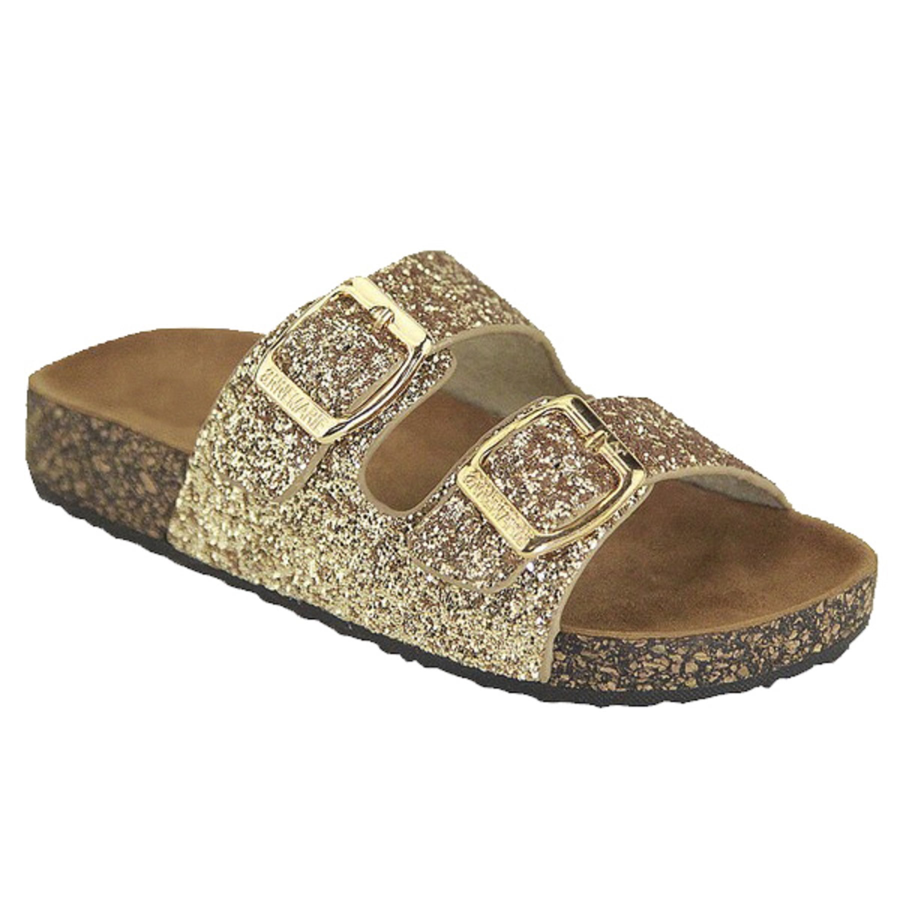 SNJ - NEW Glitter Solid Double Strap