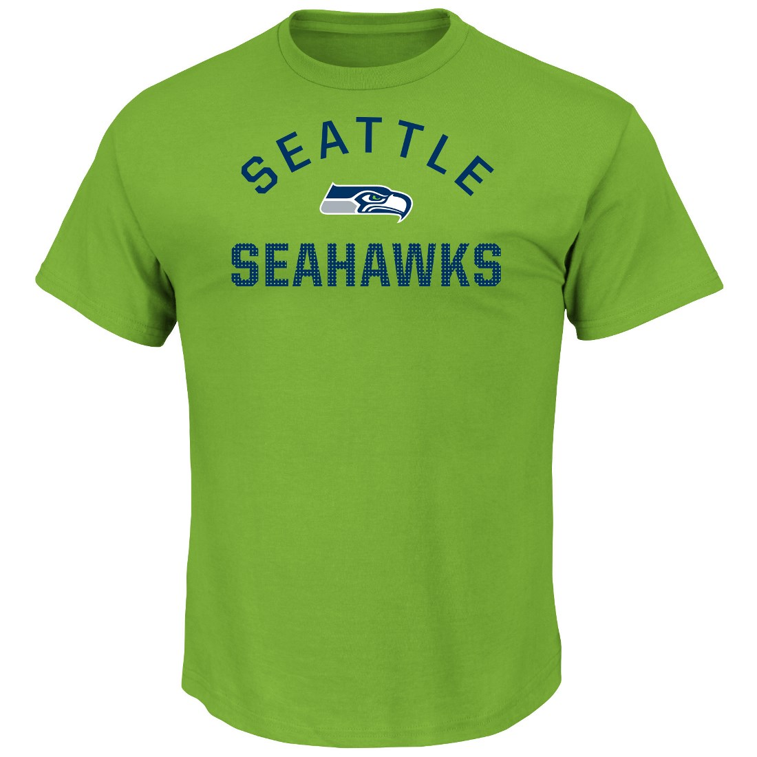 "Seattle Seahawks Majestic NFL ""For All Time"" Men's Short Sleeve T-Shirt"
