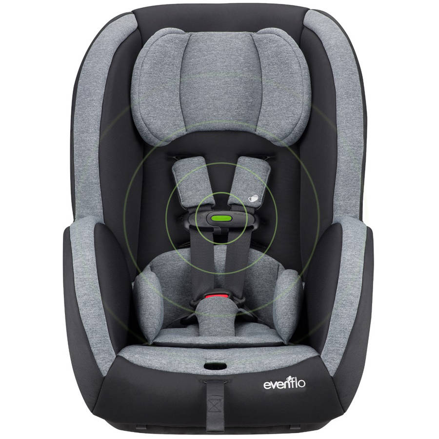 Evenflo Advanced SensorSafe Titan 65 Convertible Car Seat, Jet