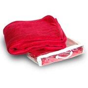 DDI 1853332 Micro Plush Throw - Red Case of 24