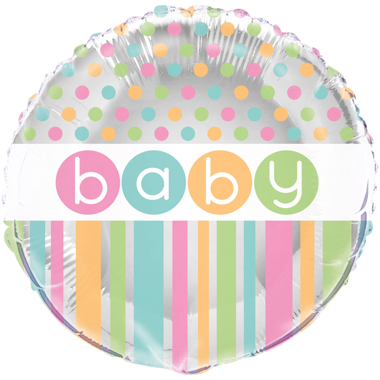Foil Pastel Baby Shower Balloon, 18 in, 1ct
