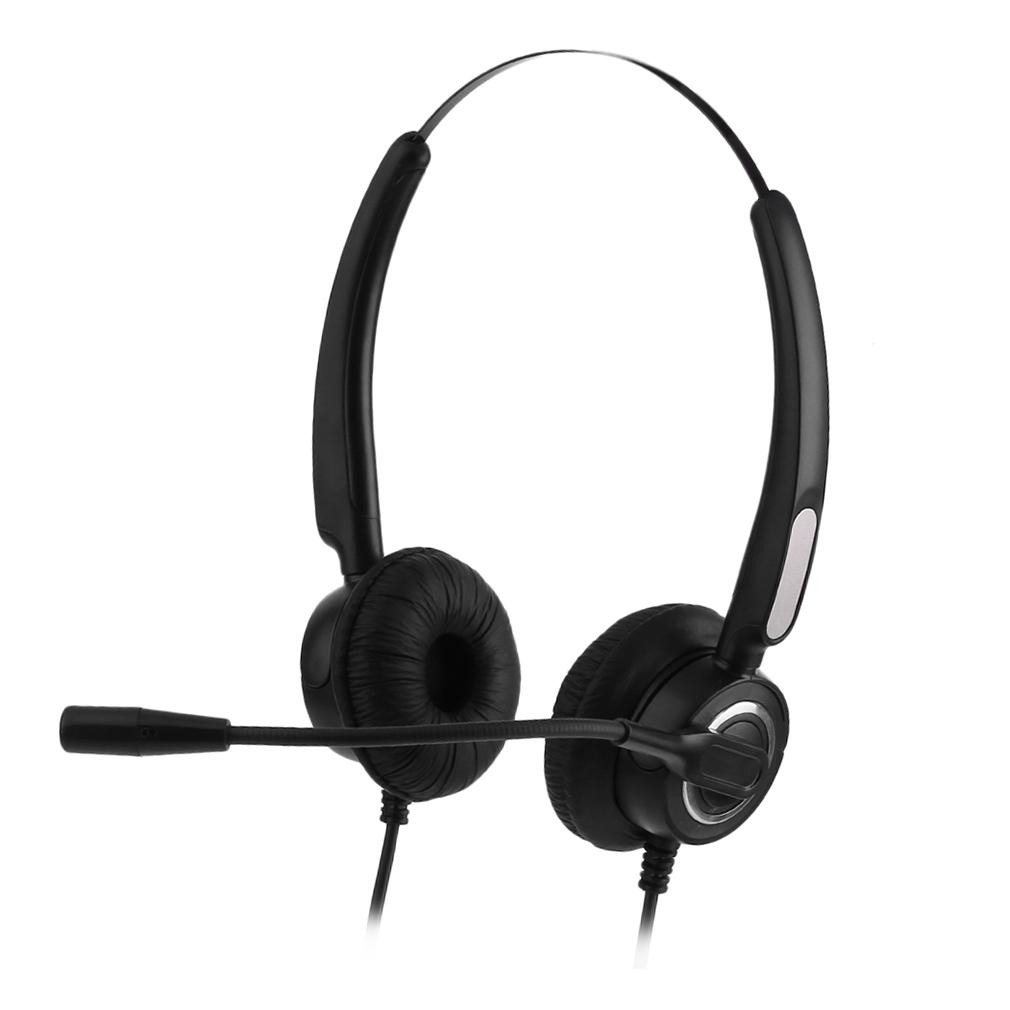 Panasonic Lightweight Microphone Headset for Telephones, KX-TCA400