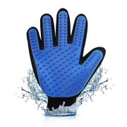 1 Pair Pet Grooming Glove Cat Dog Hair Removal Mitt Collect Remove Extra Fur Pick up Stray Hairs Multi-Function for Small Big Medium Dogs Cats Horses Rabbits, Soft Massage Bath Shedding Brush Tool