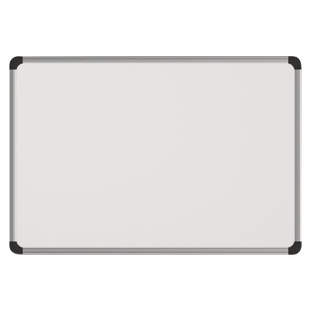 Universal Magnetic Steel Dry Erase Board, 48 x 36, White, Aluminum ...