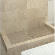 Tile Redi Triple Threshold Shower Base with Drain Top