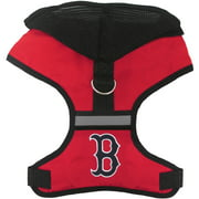 Pets First MLB Boston Red Sox Pet Harness with Hood, Small