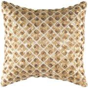 Gold Decorative Accent Pillow - Set of 2