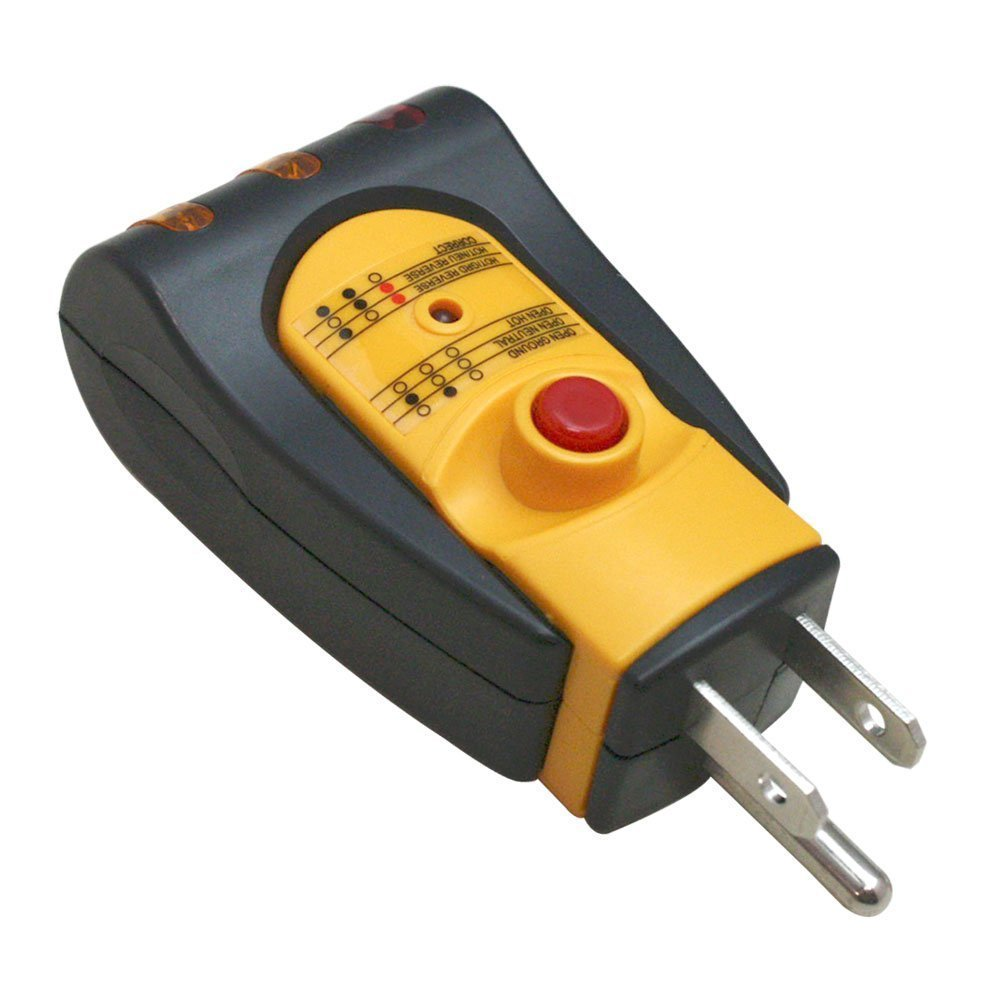 Gfci 3 Wire Electrical Receptacle Wall Plug Ac Outlet Tester Tr102t Wiring An Ground