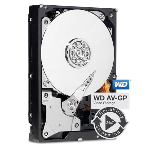 "WD AV-GP WD30EURS 3 TB 3.5"" Internal Hard Drive - SATA - 64 MB Buffer - Bulk"