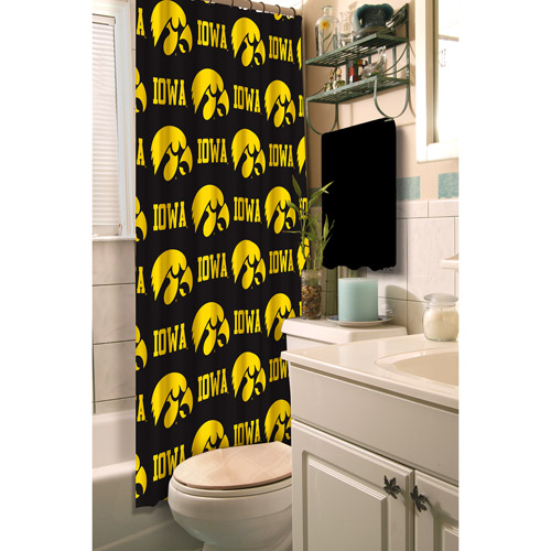 University of Iowa Decorative Bath Collection - Shower Curtain
