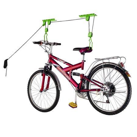 Bike Lane Bicycle Garage Storage Lift Bike Hoist 100LB Capacity Heavy