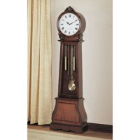"GF CLOCK, BROWN RED, 20.;00 X 9.00 X 71.75""H"