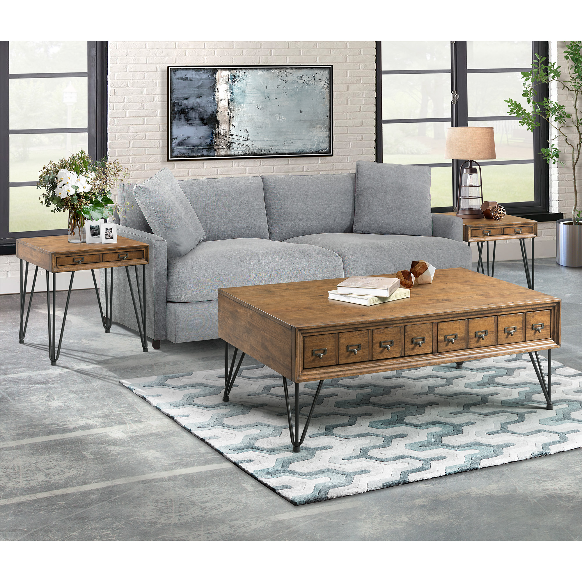 Picket House Furnishings Tanner 3pc Occasional Table Set