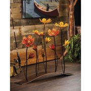 Evergreen Enterprises, Inc Floral 27.2'' H Table Lamp