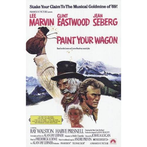Paint Your Wagon Movie Poster (11 x 17)