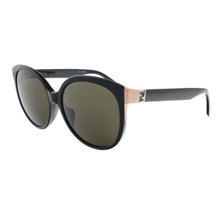 Fendi FF0144/F/S 029A Shiny Black Cateye Sunglasses