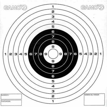 Gamo Paper Targets, 100 pack -