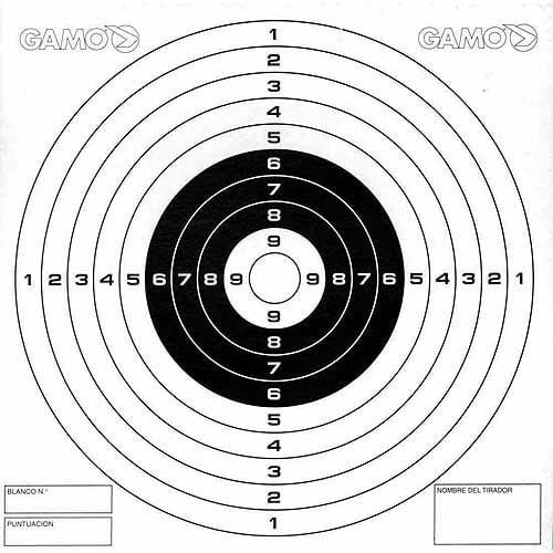 Reuseble Thick Gun Paper Targets Shooting Training Hunting Rifle Pistol Range US