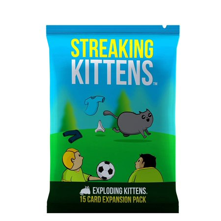 Streaking Kittens Game - Second Expansion of Exploding Kittens