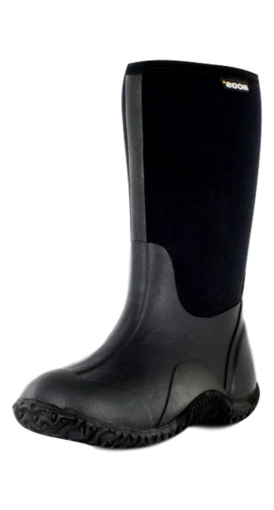 Bogs Boots Boys Kids Classic High Waterproof 7 Youth Black 52063A by Bogs