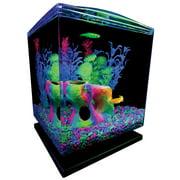 GloFish aquarium Kit 1.5 Gallons, Easy Setup And Maintenance, Perfect Starter Tank