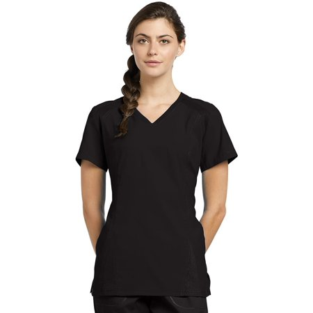 9d4fcf2783d White Cross - Oasis by White Cross Women's Athletic V-Neck Ribbed Side  Solid Scrub Top - Walmart.com