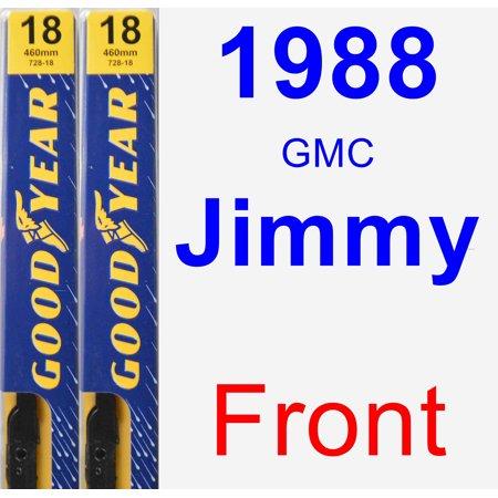 1988 GMC Jimmy Wiper Blade Set/Kit (Front) (2 Blades) - Premium - Blades Of Glory Jimmy