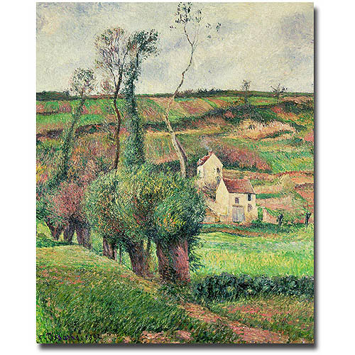"Trademark Fine Art ""The Cabbage Slopes Pontoise 1882"" Canvas Wall Art by Camille Pissaro"