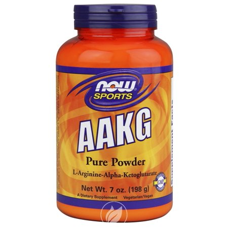 Now Foods AAKG Powder (unflavored) 7 oz, Pack of 2 (Now Foods Aakg)