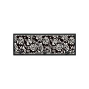 Damask Border Wall Plaque with Pegs