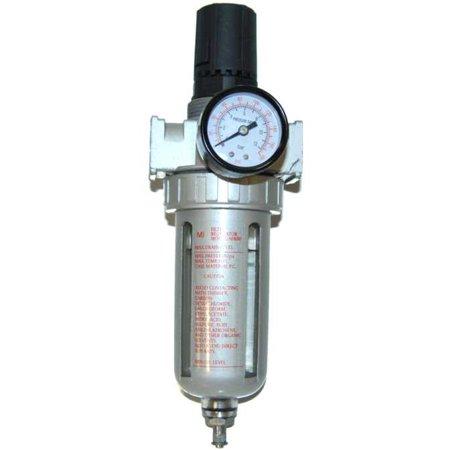 New Air Compressor FILTER PRESSURE REGULATOR Water (Wilkerson Filter Regulator)