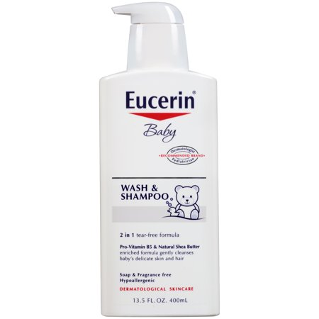 Eucerin Baby Wash and Shampoo 13.5 fl. oz.