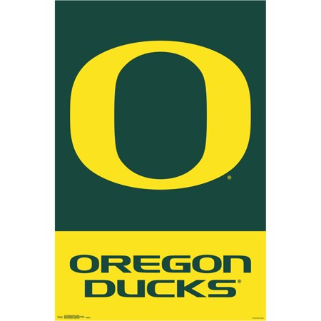 Oregon Ducks 22.4'' x 34'' College Logo Poster - No Size