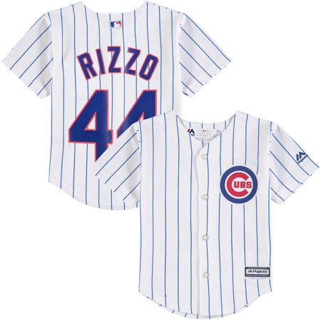 san francisco 75a2f 8214b Anthony Rizzo Chicago Cubs Majestic Toddler Home Official Cool Base Player  Jersey - White/Royal