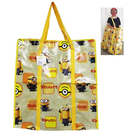 Minions Kevin, Stewart, and Bob Jumbo Tote Bag