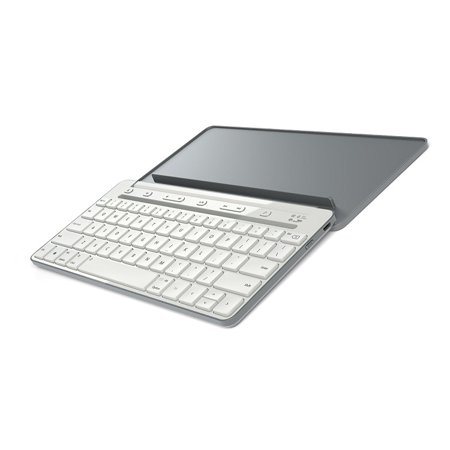 Microsoft Universal Mobile Keyboard for iPad, iPhone, Android devices, and Windows tablets - White (White Microsoft Keyboard)