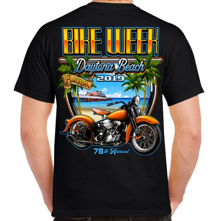 Biker Life 2019 Bike Week Daytona Beach Beach Shield -