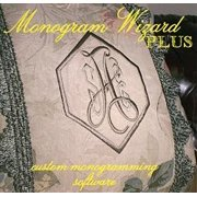 Best Embroidery Digitizing Softwares - Monogram Wizard Plus Embroidery Lettering Software Special Edition Review