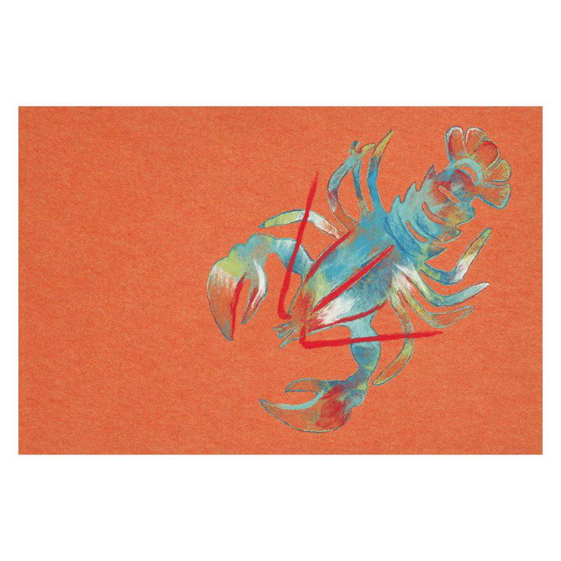 Trans Ocean Import Co Liora Manne Lobster Indoor Outdoor Doormat by Supplier Generic