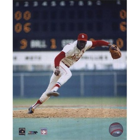 Photofile PFSAAEY01301 Bob Gibson - l'action Pitching Photo Sports - 8 x 10 - image 1 de 1