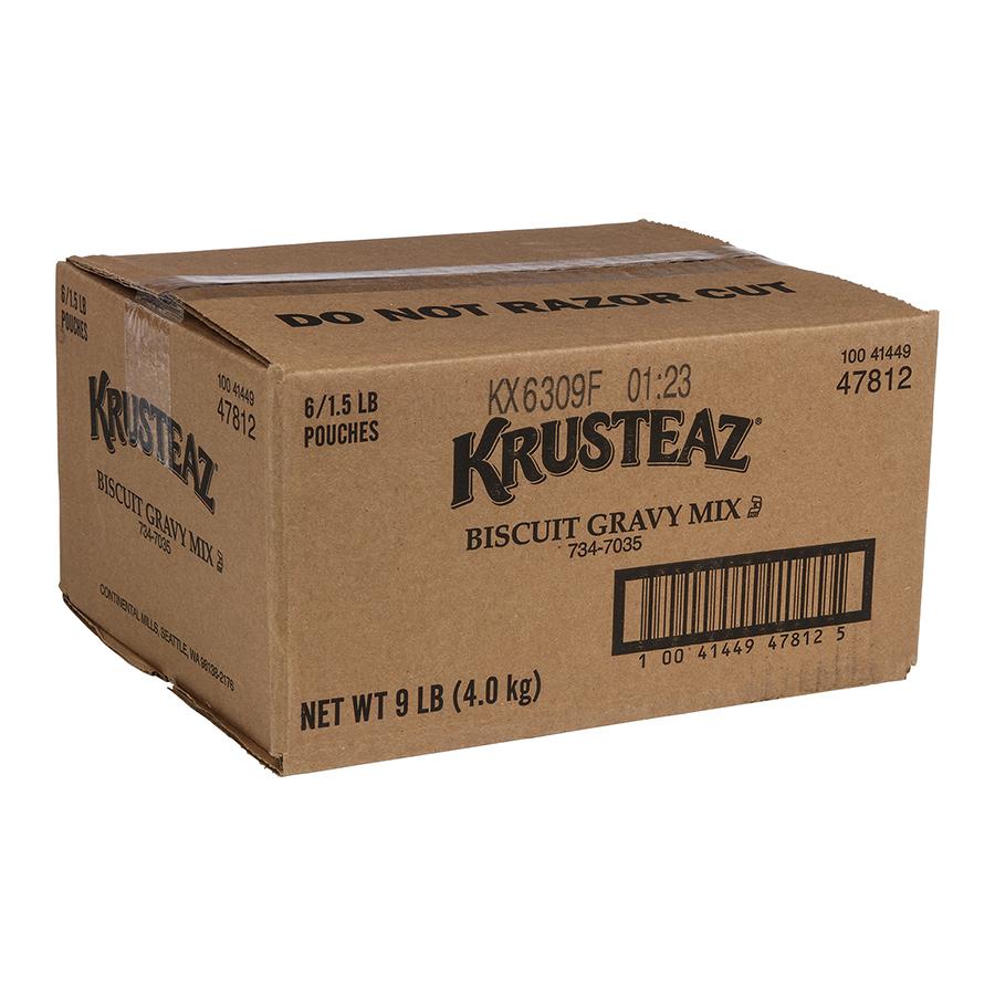 Krusteaz mix Krusteaz Biscuit Gravy, 1.5 Pound (6 Pack)