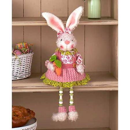 Easter Bunny Decor Collection-Girl Shelf (Girl Shelf Sitters)