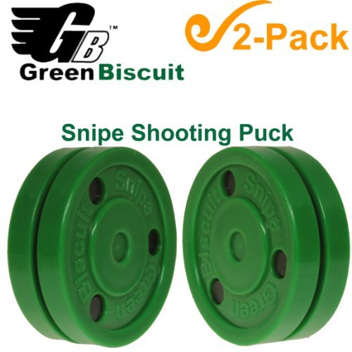 Green Biscuit SNIPE Shooting Puck - 2 Pack