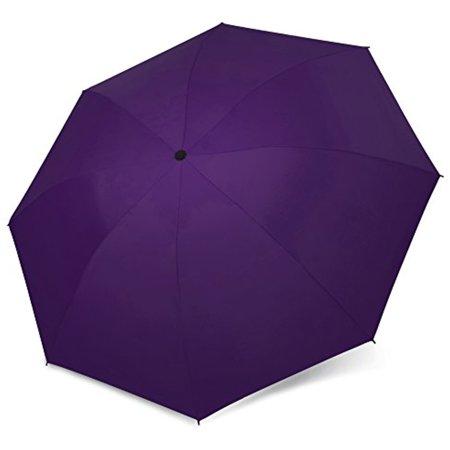 Folding Travel Umbrella Automatic Lightweight Compact Portable Windproof Rain Umbrellas for Men and Women