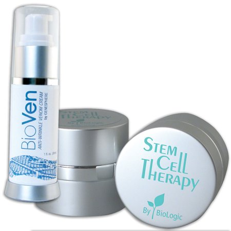 (Set) Biologic Stem Cell Therapy Beauty And Bioven Anti Aging Venom -