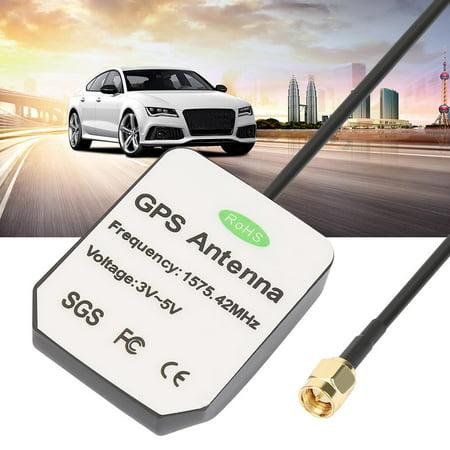 Ccdes Antenne GPS 1575.42MHz, antenne DVD, adaptateur d'antenne antenne GPS active 1575.42MHz pour antenne SMA - image 6 de 8