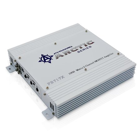 PYRAMID PB717X - 1000 Watt 2 Channel Bridgeable MOSFET Amplifier ()