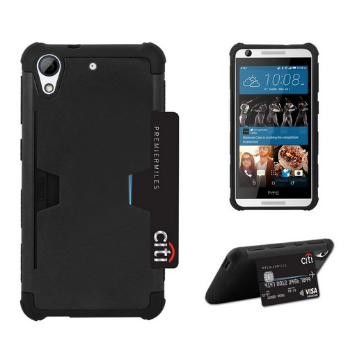 C&E Shell Case Rugged For HTC Desire 626 Black/Black