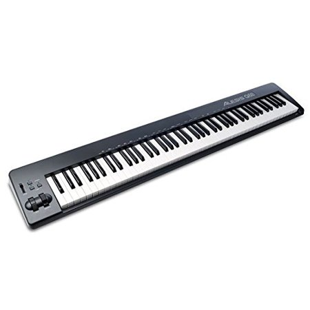 Alesis Q88 | 88-Key USB/MIDI Keyboard Controller (Best 88 Key Midi Keyboard)